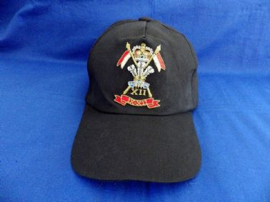 9th / 12th ROYAL LANCERS ( PRINCE OF WALES'S ) BASEBALL CAP